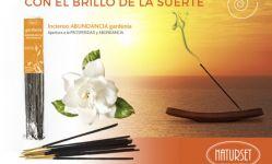 CON EL BRILLO DE LA SUERTE - Incienso Gardenia