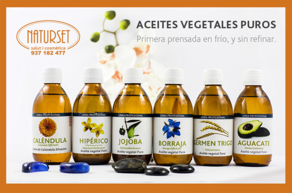 Aceites Vegetales Puros de NATURSET