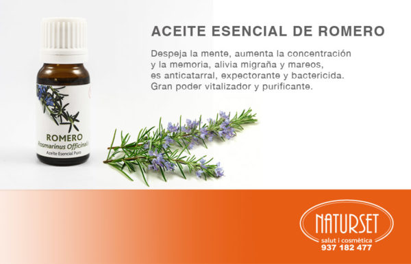 Aceite Esencial de Romero de NATURSET