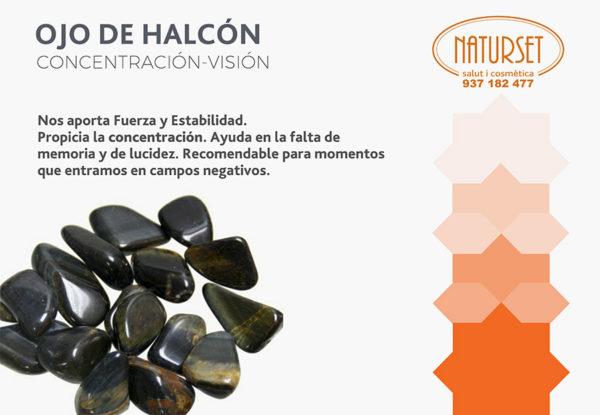 Ojo de Halcón- Cristales y Piedras de Naturset