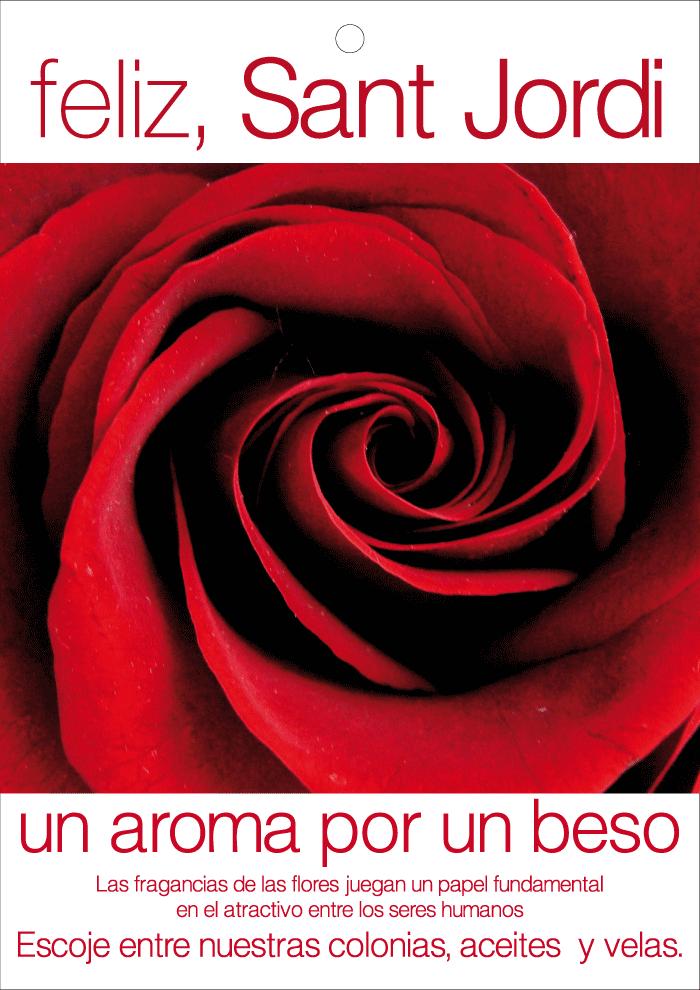 La ROSA de Sant Jordi para ti en NATURSET