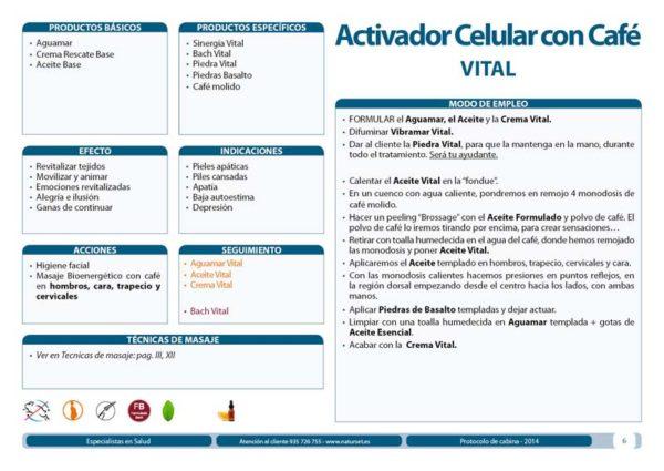 Activador Celular con Café Vital