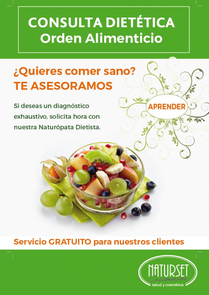 Consulta Dietética: Orden Alimenticio