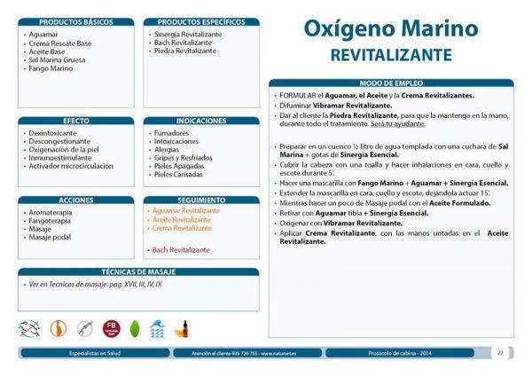 Tratamiento Corporal Oxígeno Marino Revitalizante
