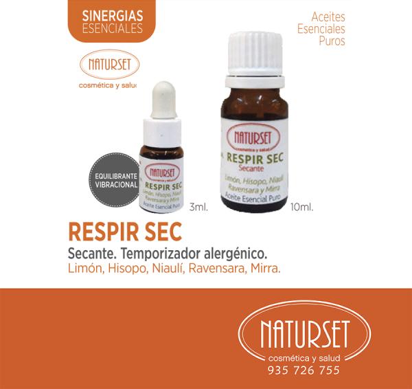 Respir Sec - Sinergia Esencial de NATURSET