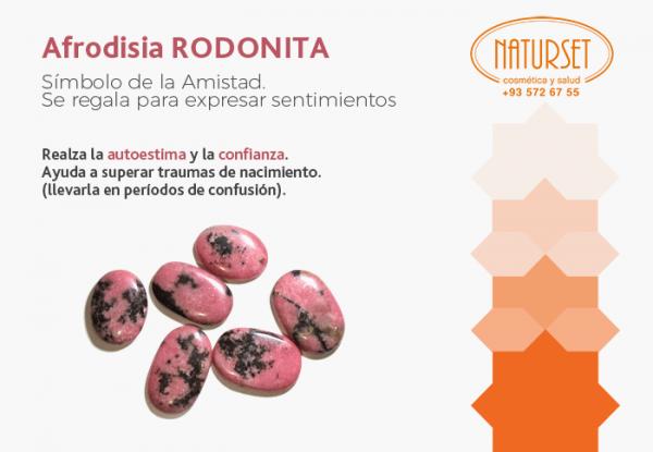 Afrodisia Rodonita - Cristales y Piedras de Naturset