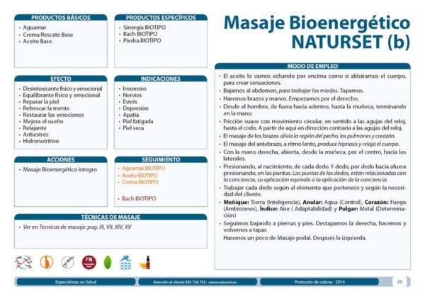 Masaje Bioenergético Naturset