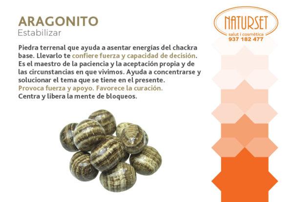 Aragonito - Estabilizar - Cristales y Piedras de Naturset