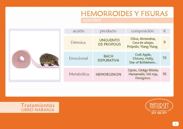 Hemorroides - Tratamiento Natural de Naturset