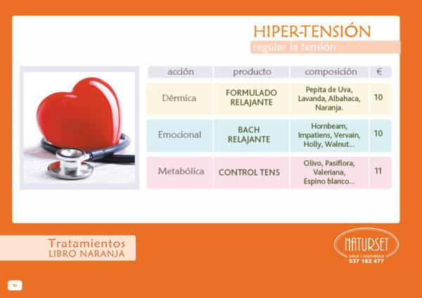 Hipertensión Tratamiento Libro Naranja de Naturset