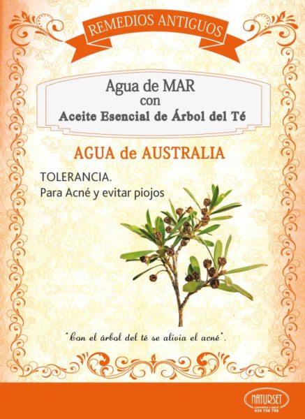 Agua de Mar con Árbol del Té - remedios Antiguos de Naturset