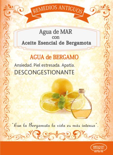 Agua de MAR con Bergamota - Remedios Antiguos de NATURSET