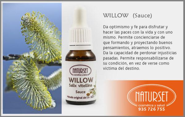 WILLOW (Sauce) - Flores de Bach de NATURSET