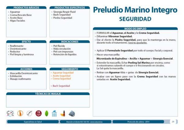 Preludio Marino Íntegro - Tratamiento Corporal Libro Azul de Naturset
