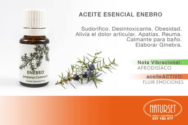 Aceite Esencial Enebro - NATURSET Salut i Cosmètica