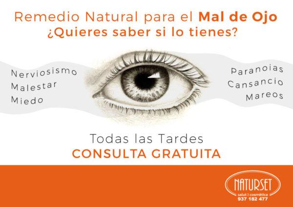 Remedio Natural para el Mal de Ojo - Consultas Gratuitas en NATURSET