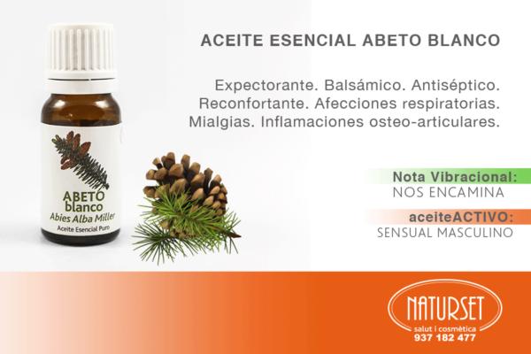 Aceite Esencial Abeto Blanco - Aceites Esenciales Puros de NATURSET