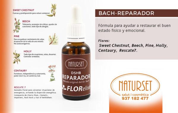 Bach REPARADOR - Fórmulas Flores de Bach de NATURSET