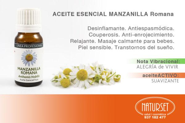 Manzanilla Romana - Aceite Esencial Puro de Naturset