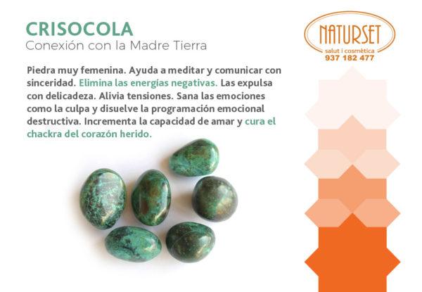 Crisocola - Cristales y Piedras de NATURSET