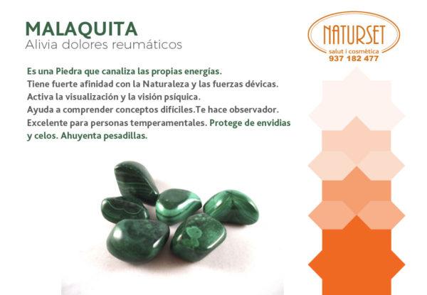 Malaquita - Cristales y Piedras de NATURSET