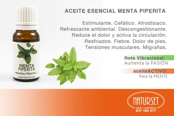 Menta Piperita - Aceite Esencial Puro de NATURSET