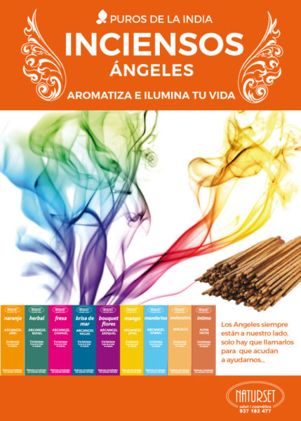 INCIENSOS-ÁNGELES - Aromatiza e ilumina tu vida - NATURSET