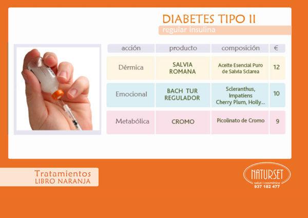 DIABETES - Tratamiento - LIBRO Naranja de Naturset