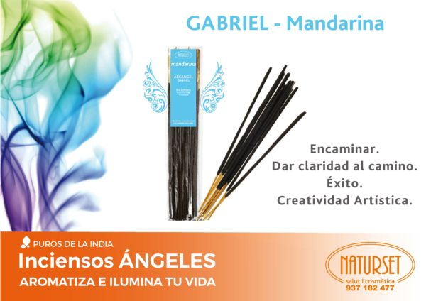 Incienso GABRIEL - Mandarina - Inciensos Angeles - Naturset