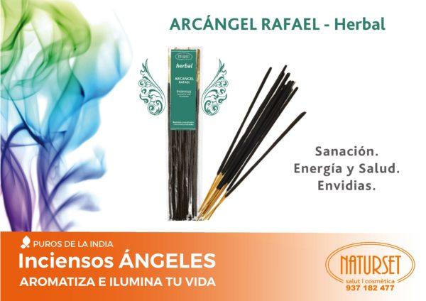 INCIENSO ÁNGELES Arcángel Rafael - herbal Sanación. Energía y Salud. Envidias.