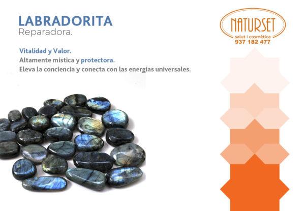 Labradorita - Reparadora - Cristales y Piedras de Naturset
