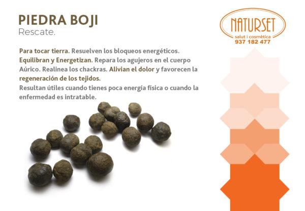 Piedra Boji- RESCATE - Para tocar tierra. - Cristales y Piedras de NATURSET