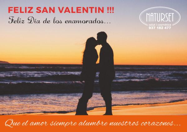 Feliz San valentin - NATURSET -Salut i Cosmètica
