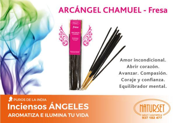 Arcángel Chamuel - Fresa - INCIENSO ÁNGELES - Naturset Salut i Cosmètica