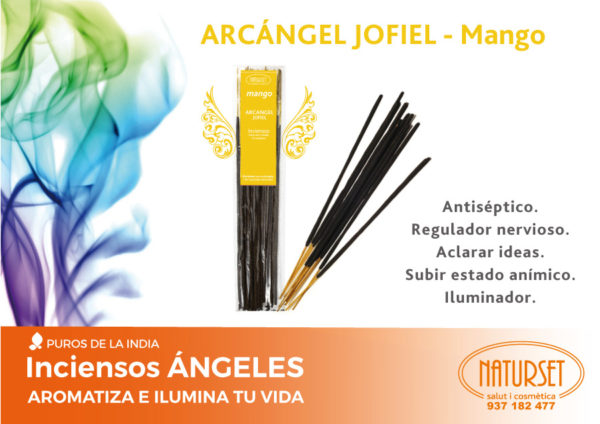 INCIENSO ÁNGELES – Arcángel Jofiel – Mango - NATURSET Salut i Cosmètica