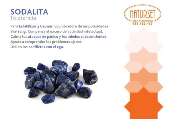 Sodalita - Tolerancia - Cristales y Piedras de Naturset - Salut i Cosmètica
