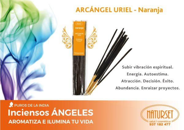 Incienso Ángeles - Arcangel Uriel - Armolínea - Naturset Salut i Cosmètica