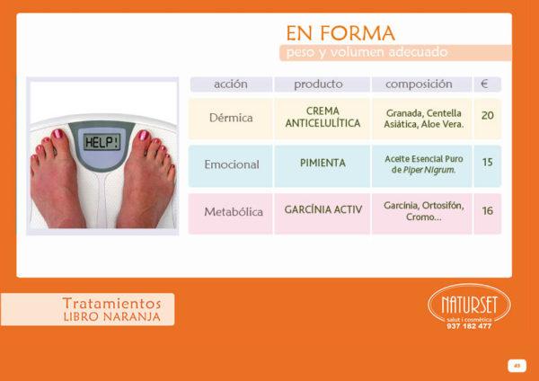 EN-FORMA - Tratamiento Libro Naranja de NATURSET