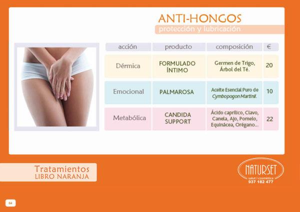 Anti-Hongos - Tratamiento - Libro Naranja de NATURSET