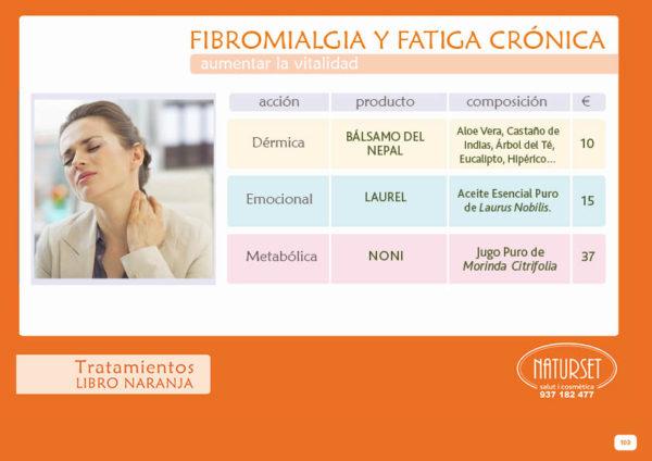 Fibromialgia - Tratamiento - Libro Naranja de Naturset