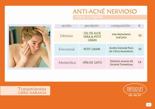 Anti-acné Nervioso - Tratamiento - Libro Naranja de NATURSET