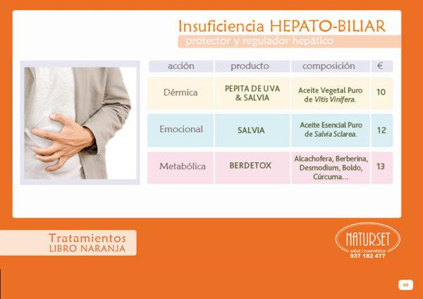 Insuficiencia-Hepatobiliar - Tratamiento - Libro Naranja de NATURSET