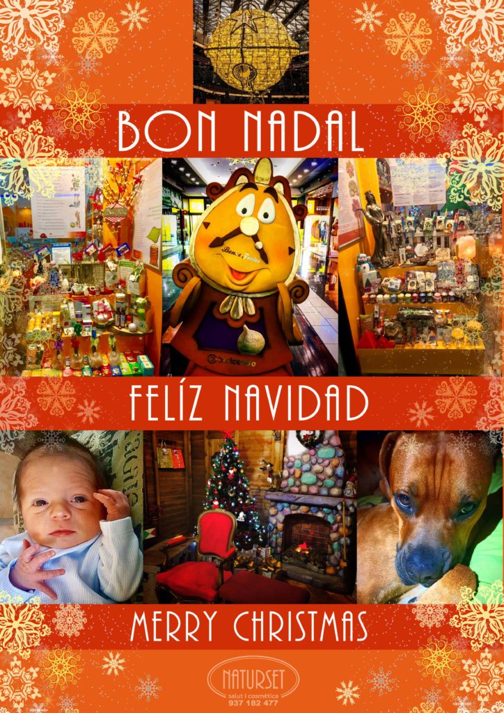 Naturset te desea Felices Fiestas!
