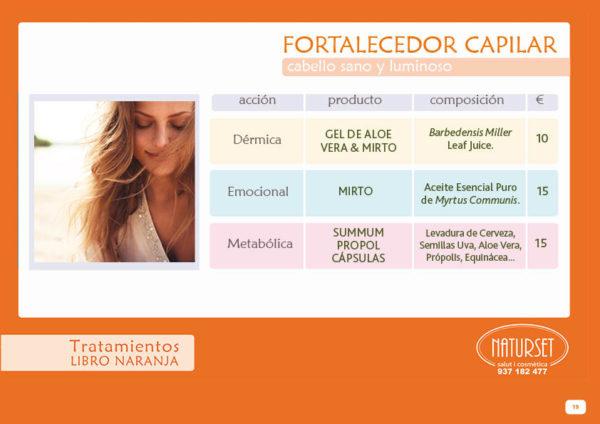 Fortalecedor Capilar - Tratamiento - Libro Naranja de Naturset